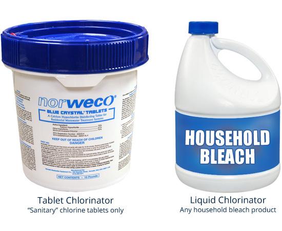 Chlorine Lonestar Aerobic Services