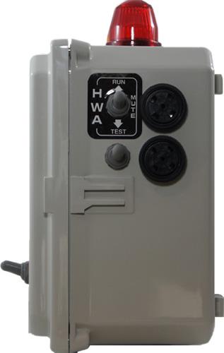 Control Panel Lonestar Aerobic Services